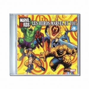Chansons personnalisées Les héros Marvel et toi