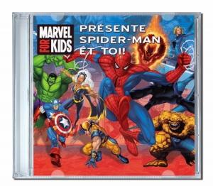 Chansons personnalisées Spiderman et toi