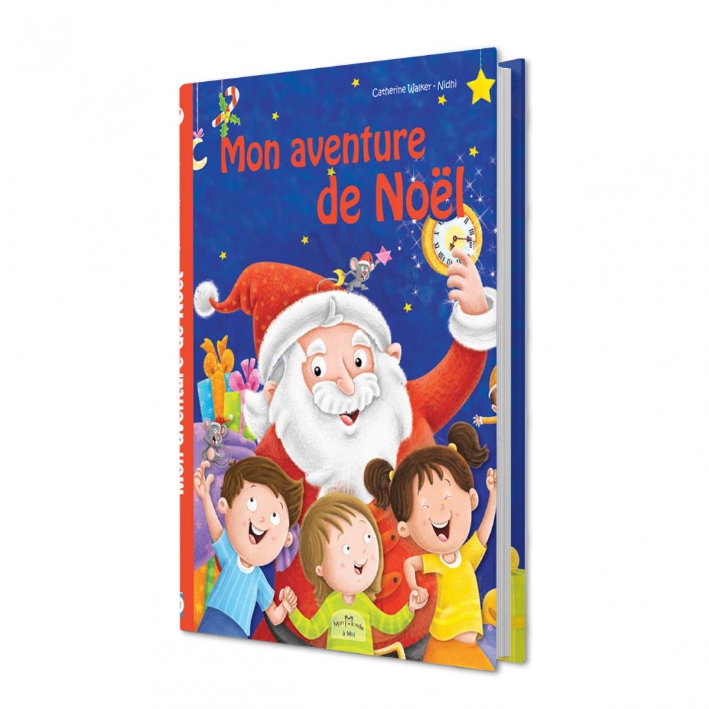 Livre personnalisé sur le thème de Noël